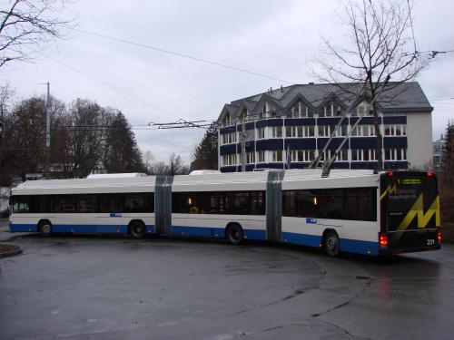 Geneva trolleybus with capacity of 200